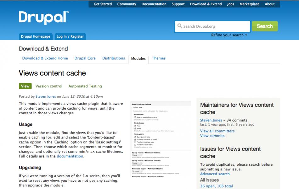 Drupal Viewsキャッシュを徹底的に活用する